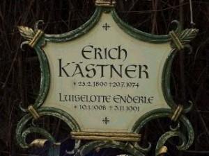 Erich Kastner's grave