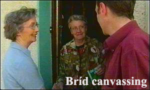 Brid canvassing