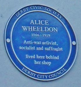 Alice plaque