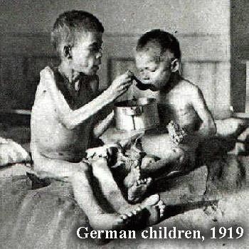 Germany, children post WWI