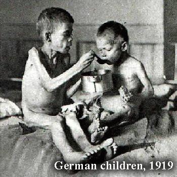 Germany, children post WWI