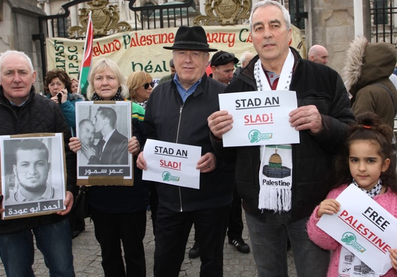 Belfast Rally in Support of Palestine