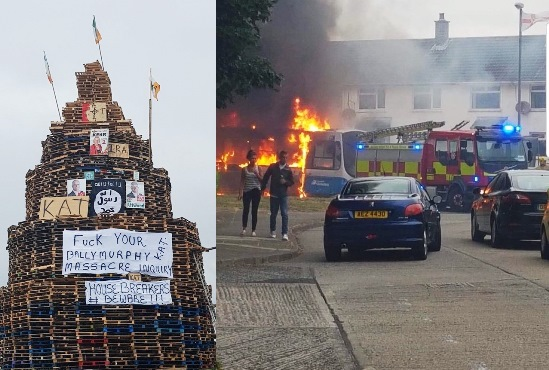 On Bonfires, The PSNI, Unionism, Sinn Féin & Stormont